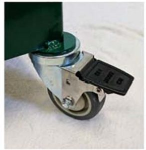 lockable front casters