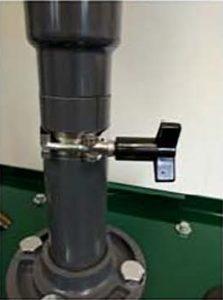 Dual telescopic pipe